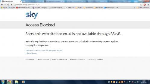 Sky blocking dating sites